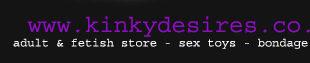 Kinky Desires Adult & Fetish Store banner