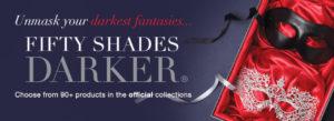 Lovehoney Fifty Shades Darker Mask banner