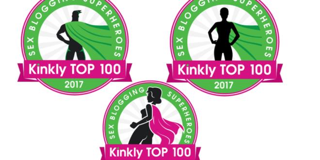 Kinkly Blogging Superheroes 2017 badges