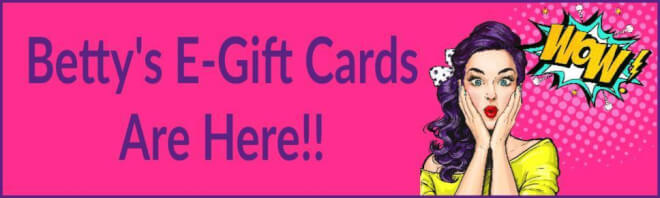 Betty's Toy Box Gift Card banner