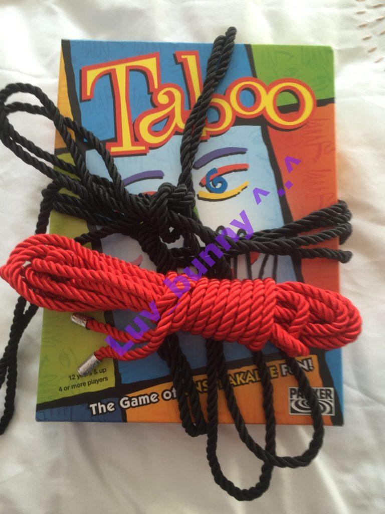 Is Bondage Taboo?