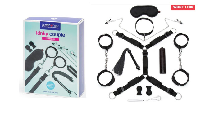 Lovehoney Kinky Couple bondage kit