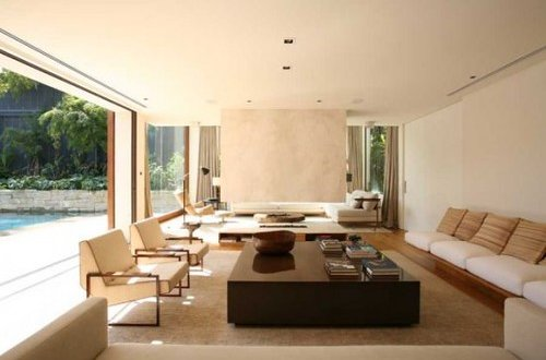 lounge area in a modern home