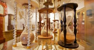 hourglasses in museum