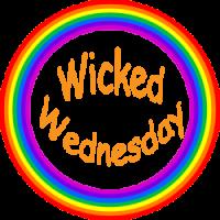 Wicked Wednesday Rainbow circle