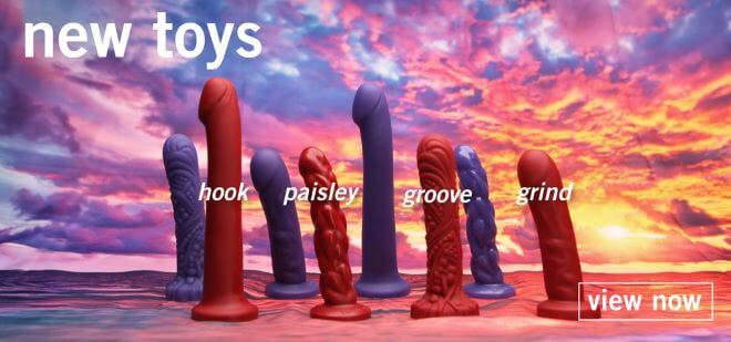 New Toys from Tantus; Hook, Paisley, Groove, Grind