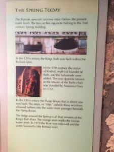 The Spring at Bath's Roman Baths