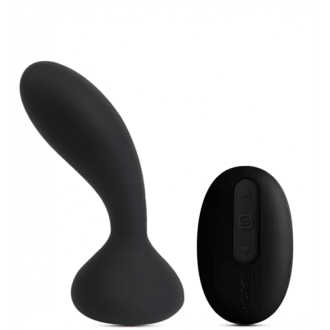 Black remote-controlled Prostate Massager