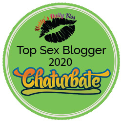 Molly's Daily Kiss / Chaturbate Top Sex Blogger 2020 Green badge